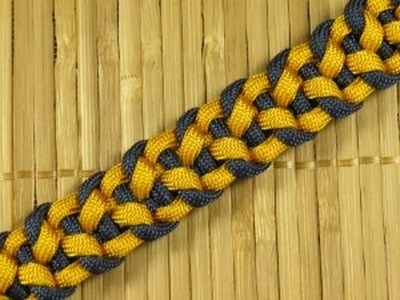 How to make an Interlock Paracord Buckle Bracelet