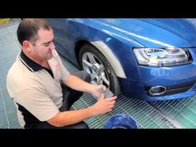 How to repair a Dent and a Scratch in your paintwork PART 2