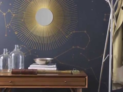 Interior Design — DIY Painted Star Constellation Wall Project