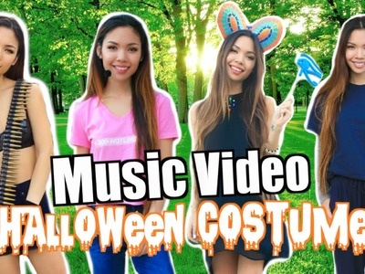LAST MINUTE DIY MUSIC VIDEO COSTUMES! | Halloween 2015