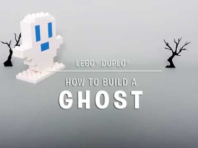 LEGO® DUPLO® - DIY - How to Build your own Halloween Ghost!