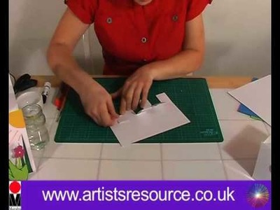 Make a Pop up Greetings Card - Card Making Project - Art and Craft