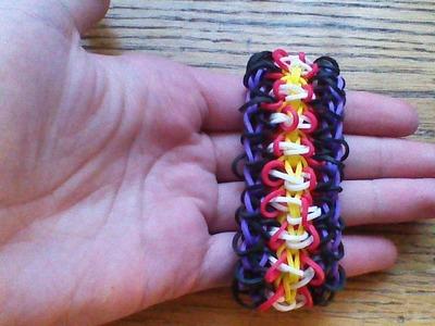 NEW Rainbow Loom Chenille Bracelet