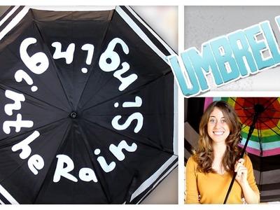 Painted Umbrella - Do It, Gurl