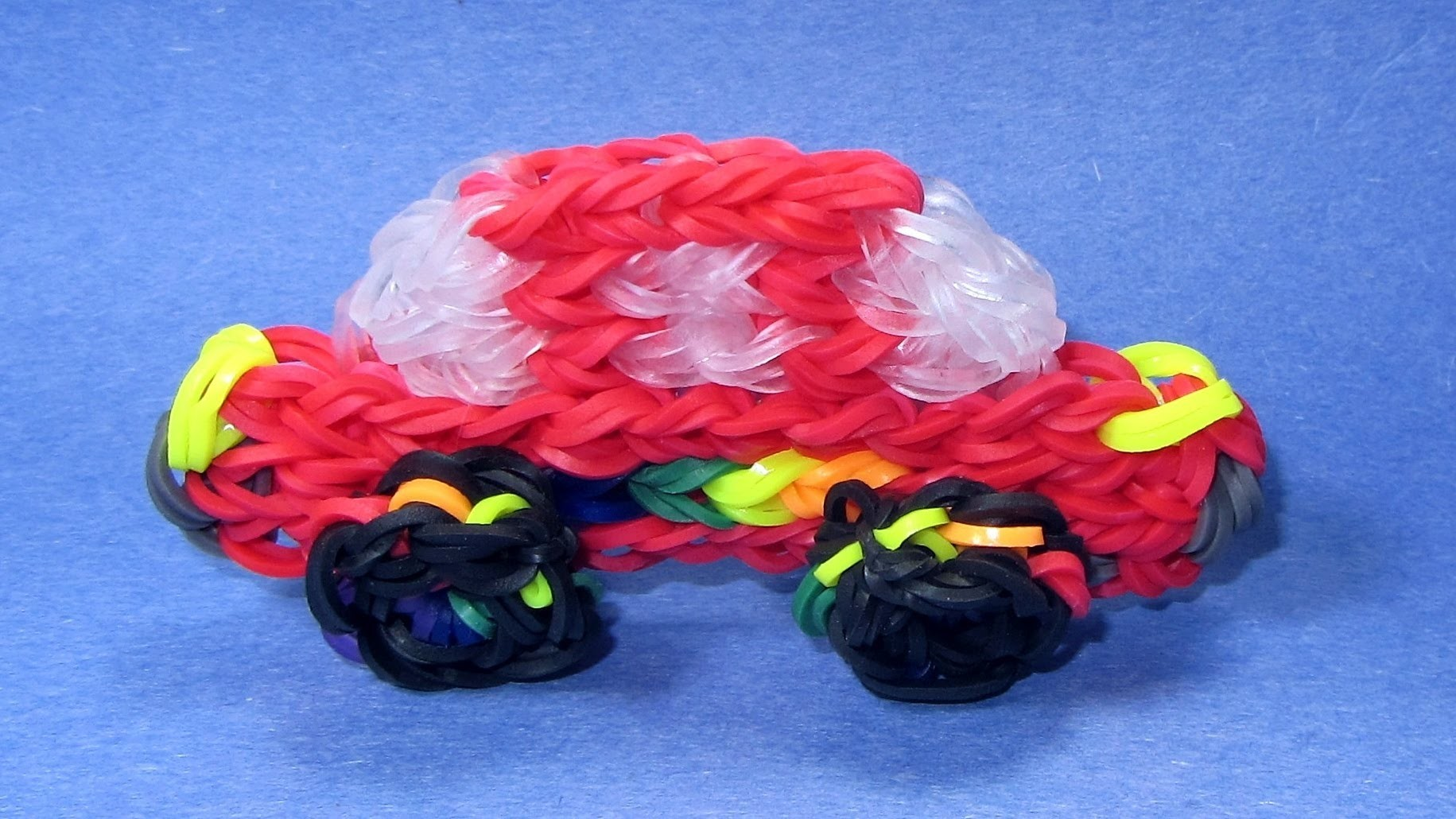 Rainbow Loom CARS Charm