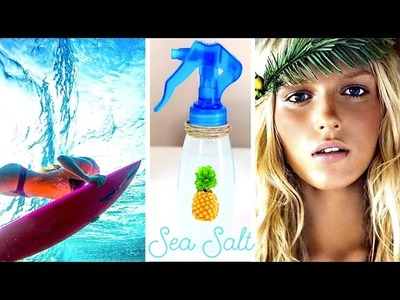 Sea Salt Spray DIY - How To Get Heatless Beach Waves!