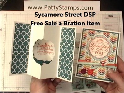 Stampin Up meeting card projects by Patty Bennett