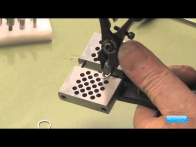 Tim Sheriff Creates A Love Knot Necklace Using the Swanstrom Link Forming Pliers