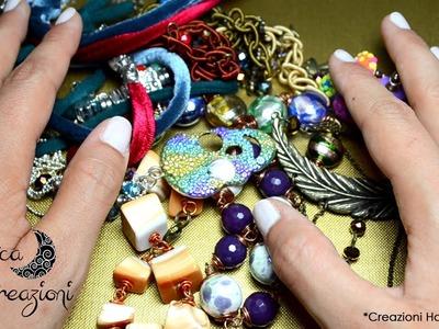 Video Creazioni di Luglio e prima prova Beads Embroidery!   Creations Update