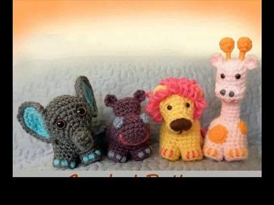 Crochet animals amigurumi