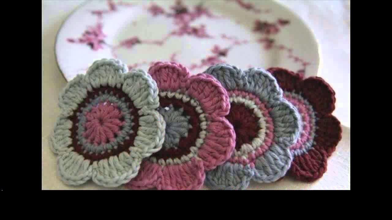 Crochet flower granny
