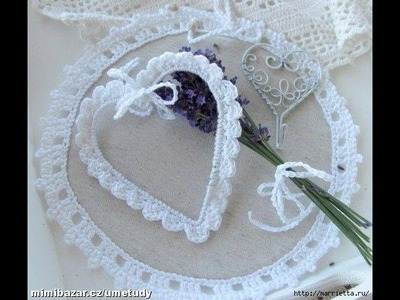Crochet :Heart of wire strapping