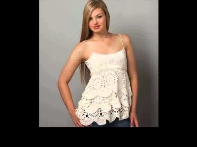 Easy crochet tank top for beginners