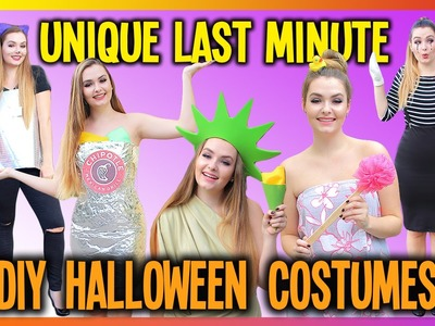 Easy DIY Halloween Costumes for Teens!