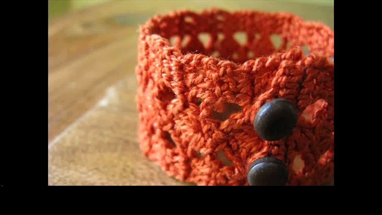Free crochet bracelet ideas