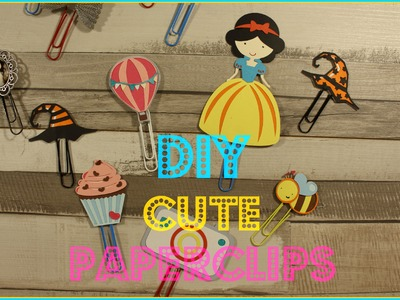 5 DIY Cute Paperclips - Pimp my Planner ♥