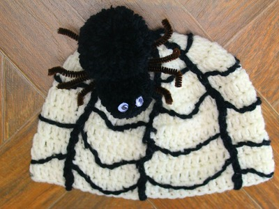 Crochet - Awesome Halloween Hat  (Video 2)