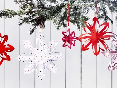 DIY by Panduro: Christmas star with paper folding