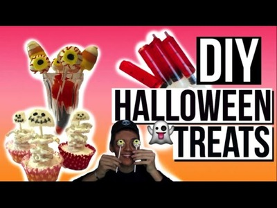 DIY Halloween Snacks.Drinks 2015! LAST MINUTE DIY