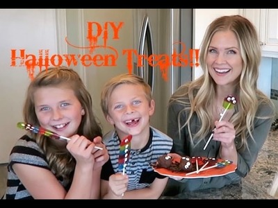 DIY Halloween Treats!!