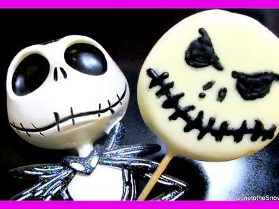 DIY JACK SKELLINGTON OREOS | #YTCM Halloween Collab