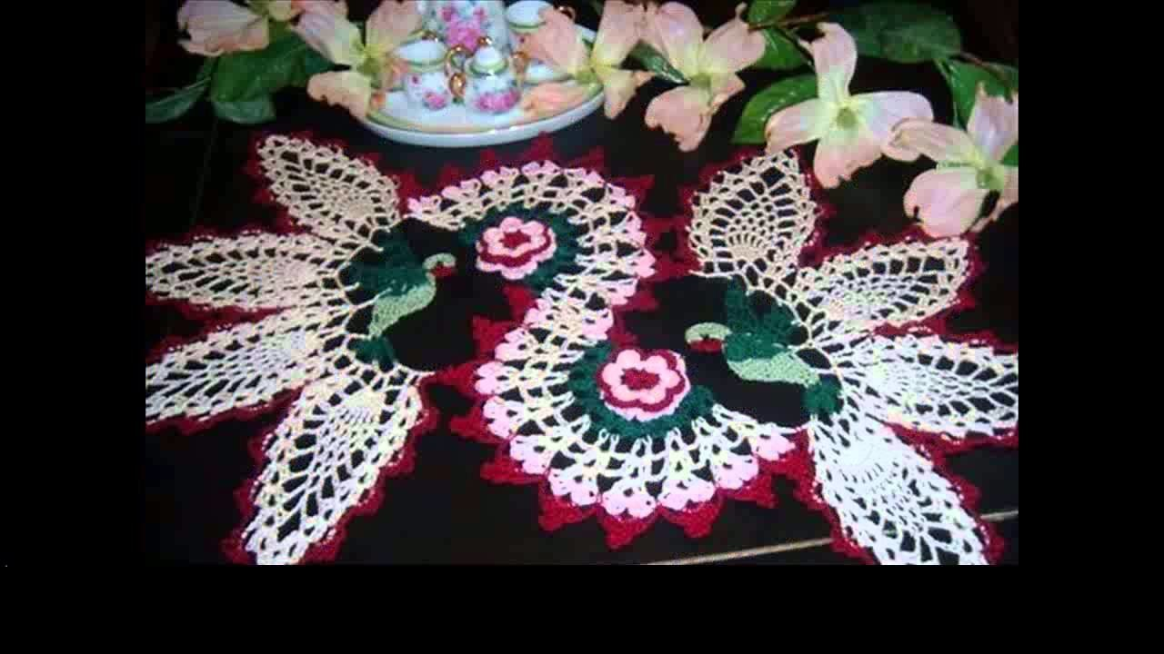 Easy crochet doilies projects