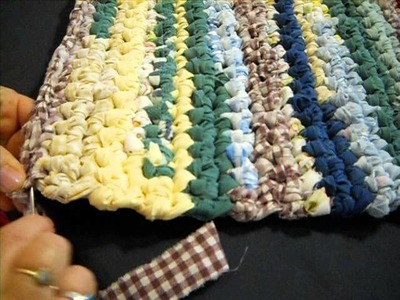 Runner Rag Rug of Many Colors (Super Easy Crochet) Part 2
