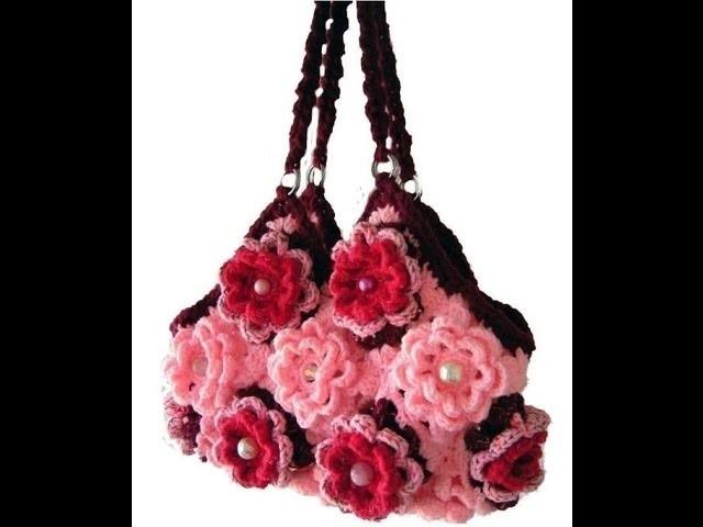 Stunning Crochet Purse Hand bag Collection