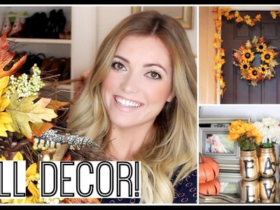 Thanksgiving.Fall Decor! Haul & DIY Ideas. Style By Dani