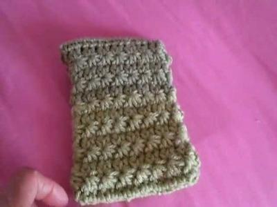 Cellphone pouch from Crochet Geek