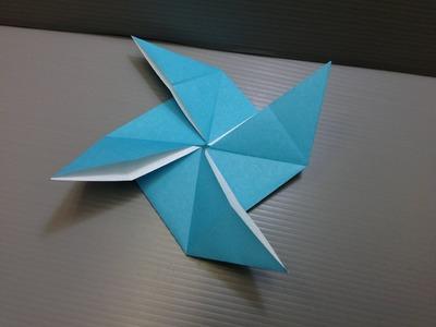Daily Origami: 093 - Pinwheel