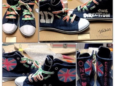 DIY: One Direction Shoes!