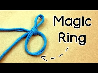 HOW TO CROCHET THE MAGIC RING (magic circle, adjustable ring or magic loop ) | Patrones Valhalla ENG