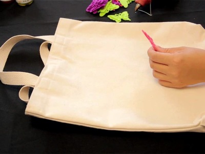 How to Decorate Eco Grocery Bags With Fabric : Decorative Fashion