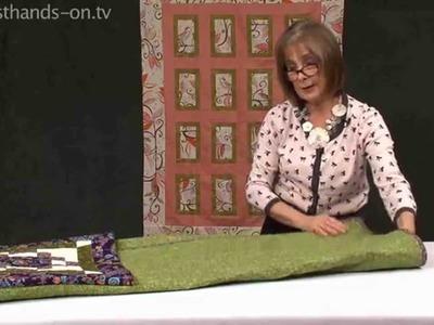 How to fold a secret pillow with Valerie Nesbitt