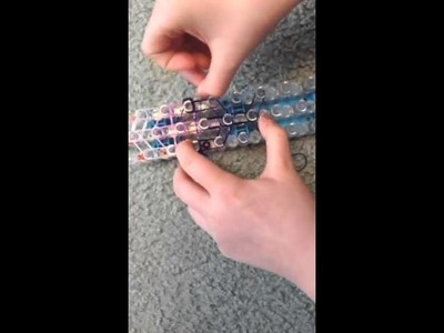 How to make an ice cream sundae rainbow loom charm