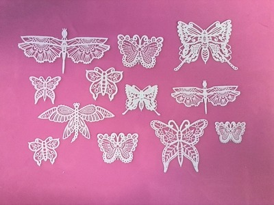 How to Make Cake Lace Butterflies