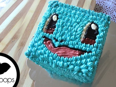 How to Make Squirtle Cake