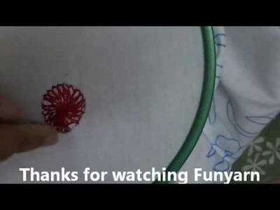 How to Stitch Chamanti - Aari work or maggam work tutorial