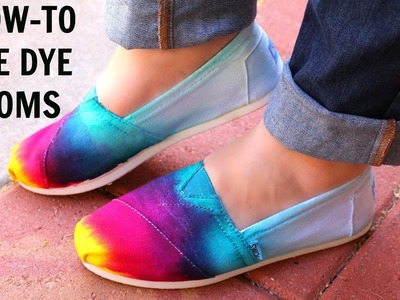 How To Tie Dye Toms