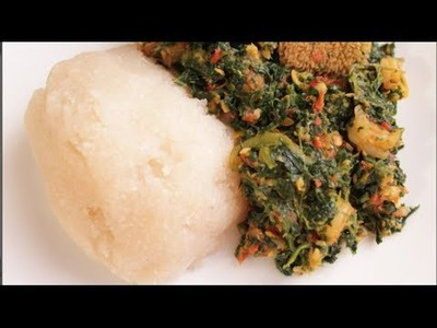 How To: Vegetable Soup (Efo Riro)