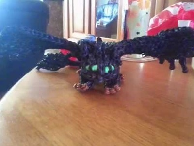 How Toothless was born on the Rainbow loom