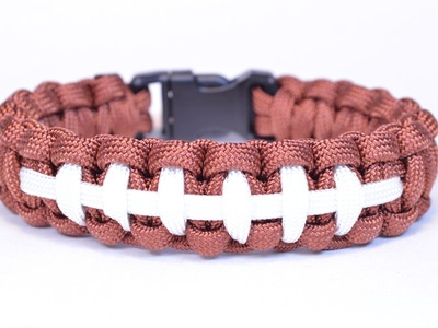 Make a Football Themed Paracord Survival Bracelet - BoredParacord