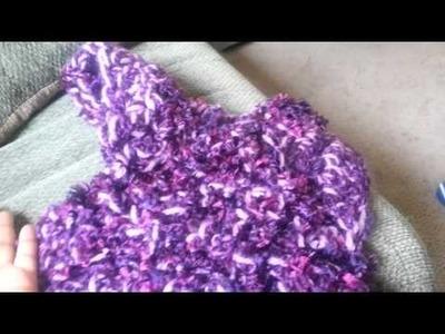 My crochet mermaid tail blanket