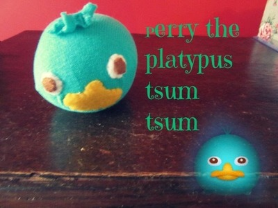 Perry Tsum Tsum (without a tail) tutorial   Tiny sparkles