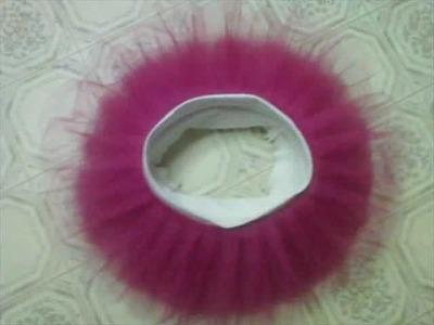The Pleated Tutu Skirt