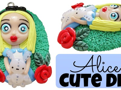 Alice in Wonderland Chibi | Polymer Clay Charms Tutorial |