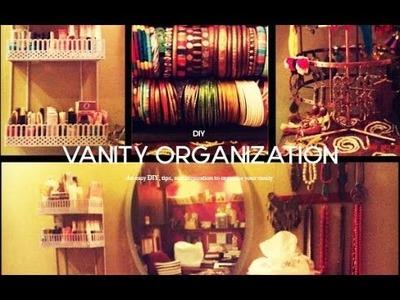 DIY Days : Vanity Organizing Tips