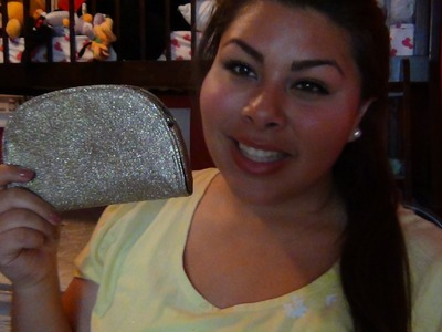DIY Glitter Pencil Bag! & What's in my Pencil Bag!