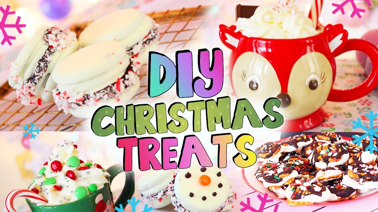 DIY Holiday Treats ❄ Christmas Party Desserts and Drinks!